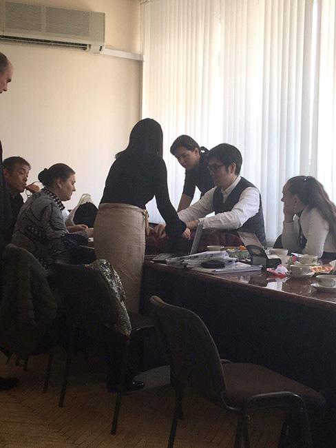Встреча с представителями зарубежных фирм